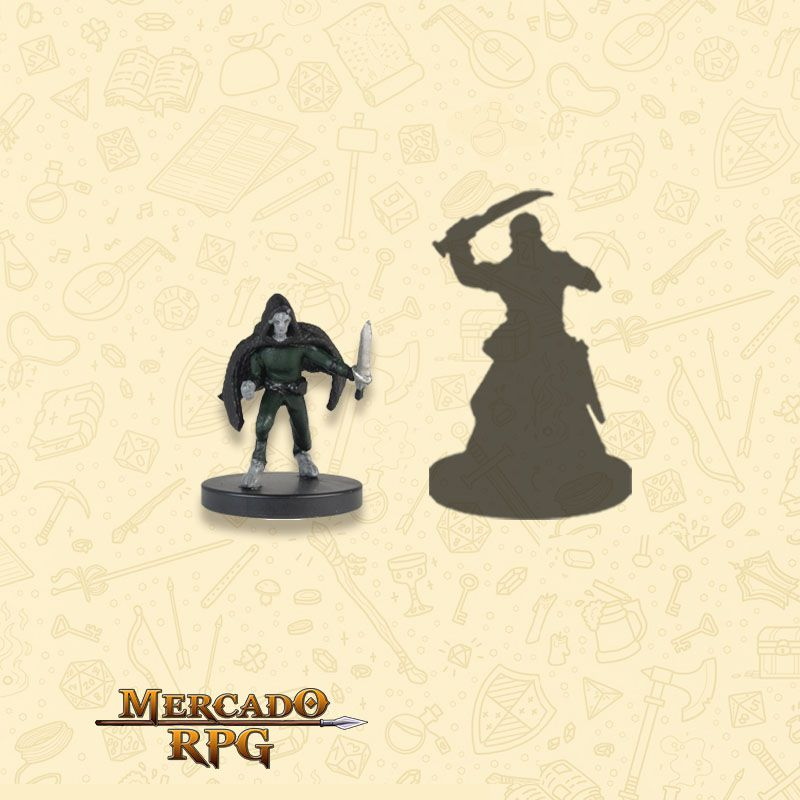 Darkling A - Miniatura RPG  - Mercado RPG