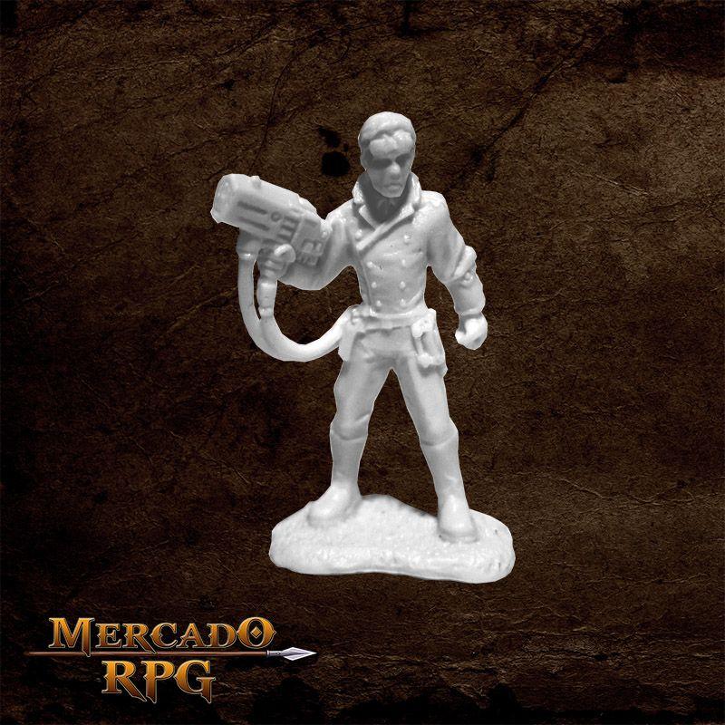 Deadlands Noir: Patent Scientist - Miniatura RPG Reaper Bones 3