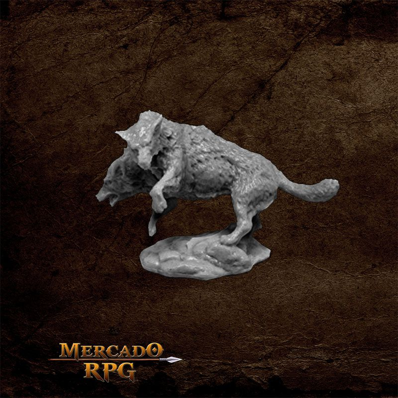 Death Dog - Miniatura RPG