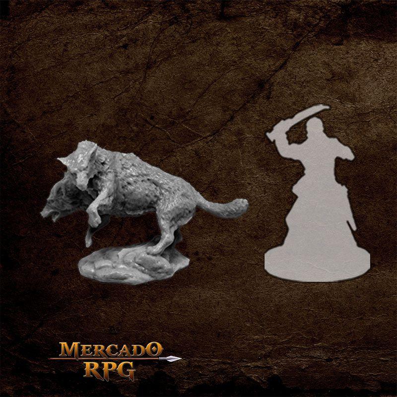 Death Dog - Miniatura RPG  - Mercado RPG