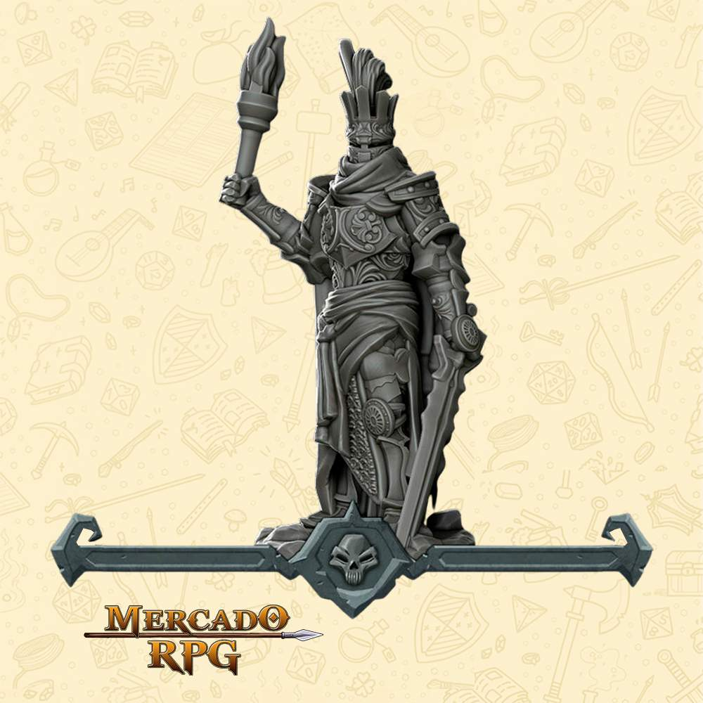 Death Knight Lord - Miniatura - RPG