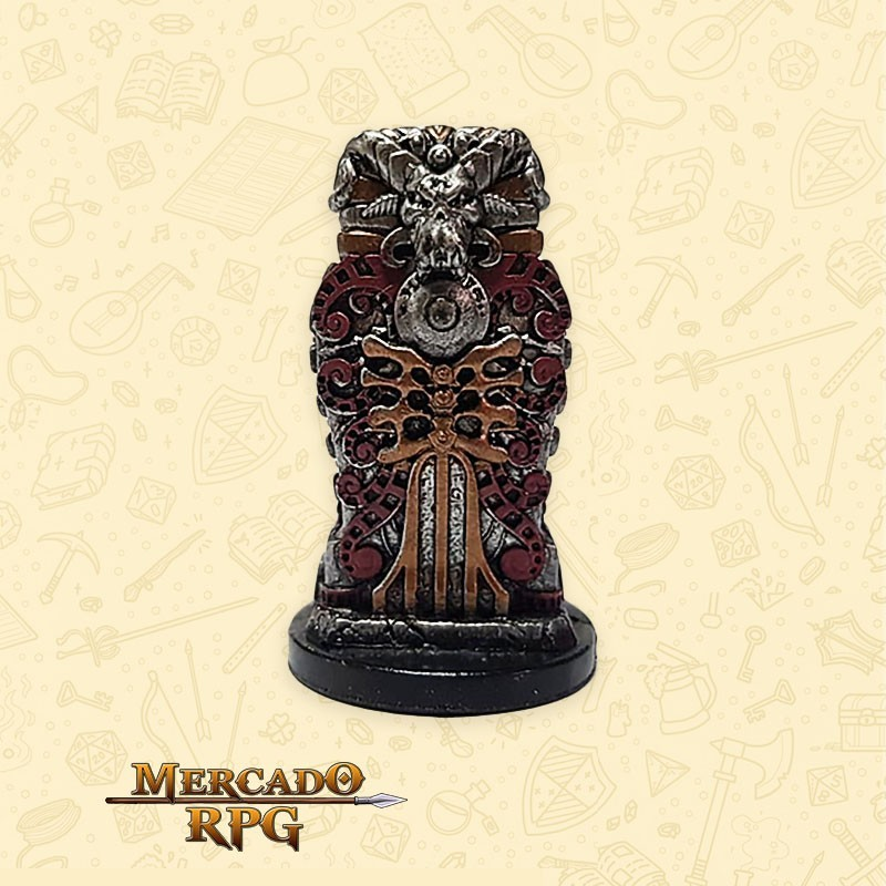 Deathgrasp Sarcophagus - Miniatura D&D - RPG
