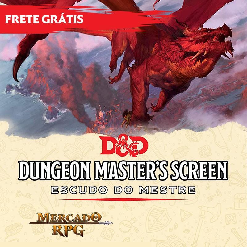 D&D 5e - Escudo do Mestre - Edição em português
