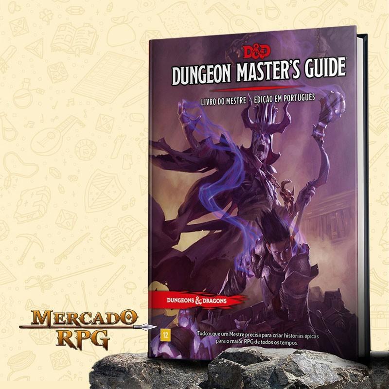 D&D 5e - Livro do Mestre - Edição em português - RPG