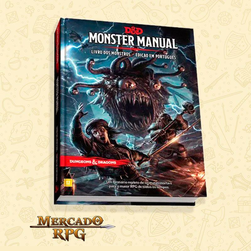 D&D 5e - Livro dos Monstros - Edição em português  - Mercado RPG