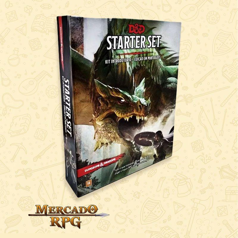 D&D 5e - Starter Set - Kit Introdutório - Edição em português - RPG