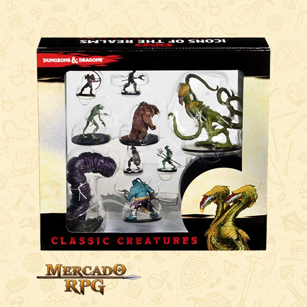 D&D - Icons of the Realms Classic Creatures
