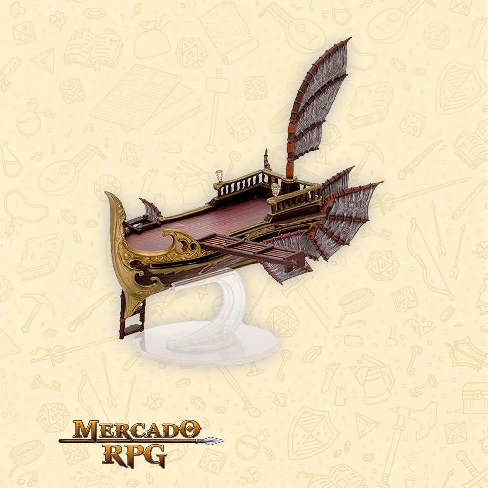 D&D Icons of the Realms: Eberron: Rising From the Last War Premium Set - Skycoach