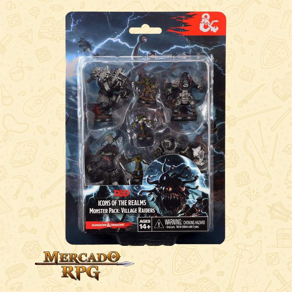 D&D Icons of the Realms Monster Pack Village Raiders