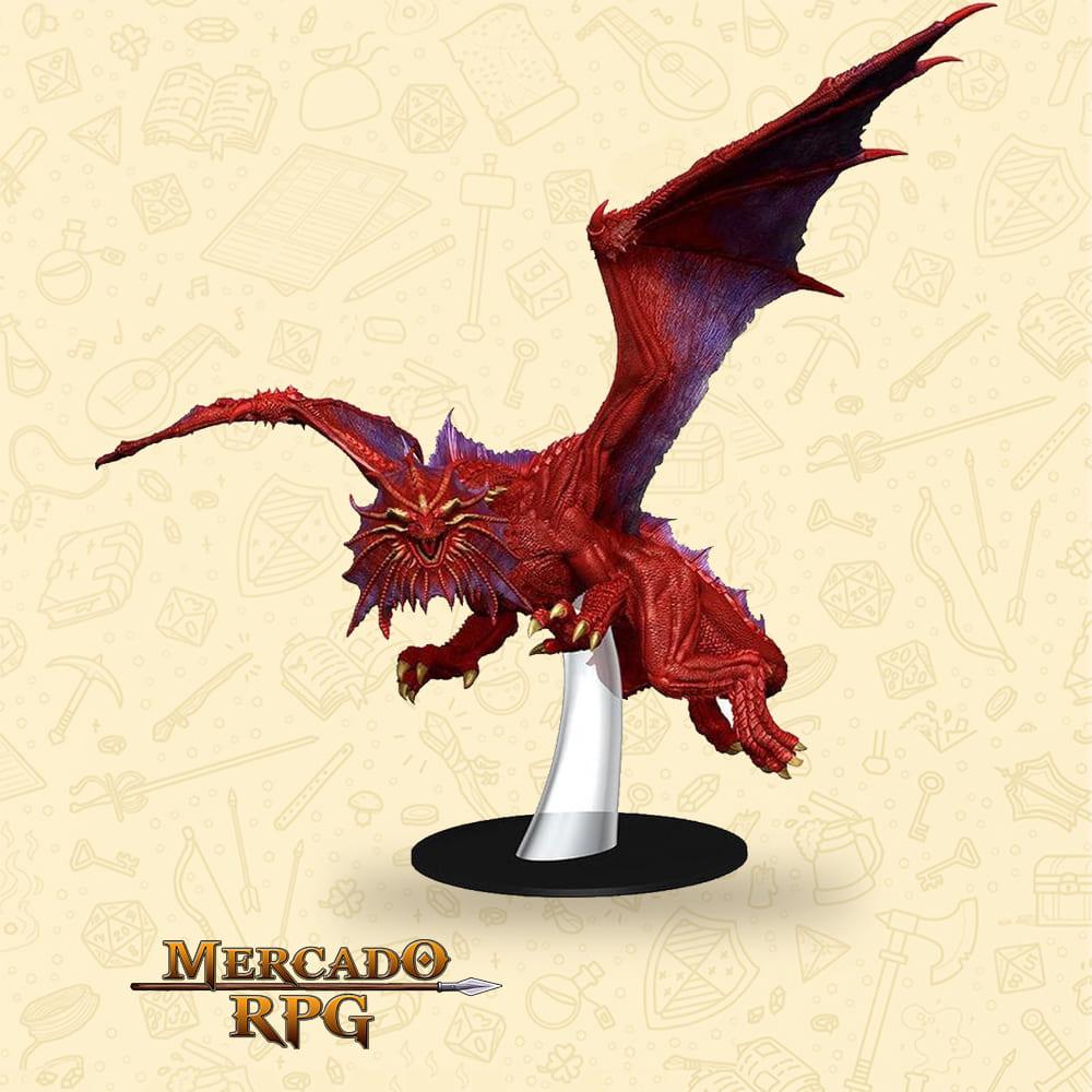 D&D Icons of the Realms - Niv-Mizzet Red Dragon Premium Figure
