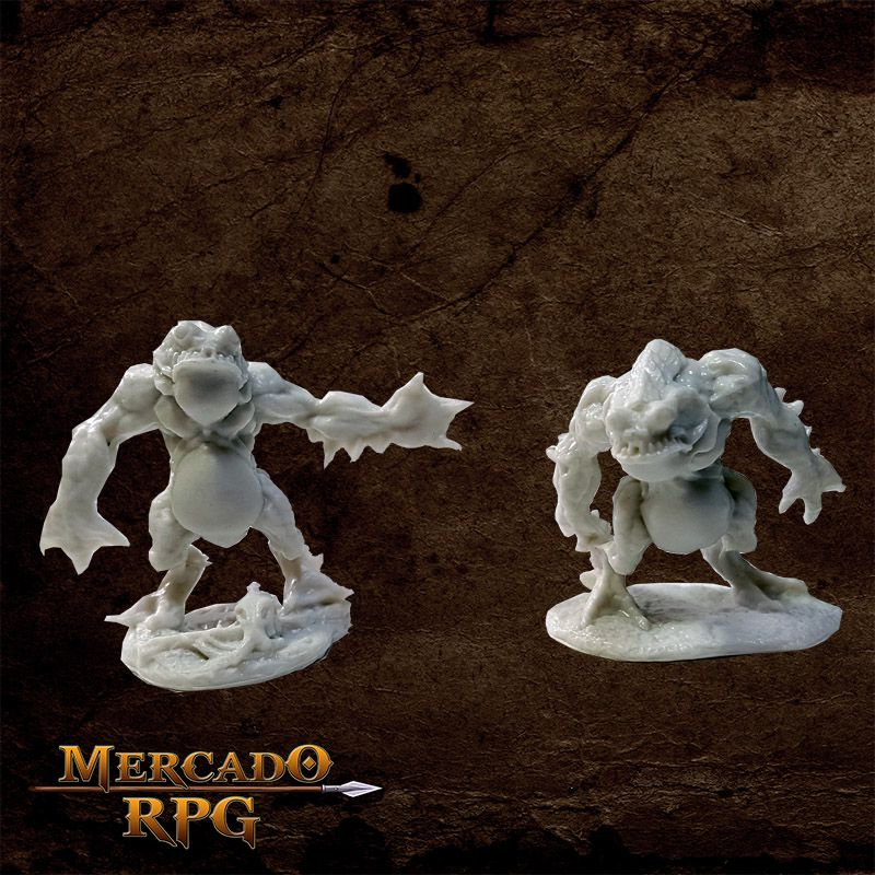 Deep Ones Warriors   - Mercado RPG