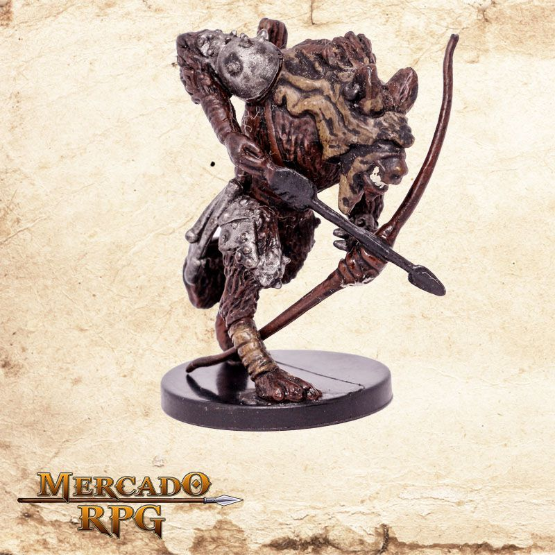 Demonic Gnoll archer  - Mercado RPG