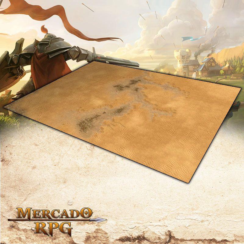 Deserto B 180x120 Grid de Batalha - Battle Grid Wargame