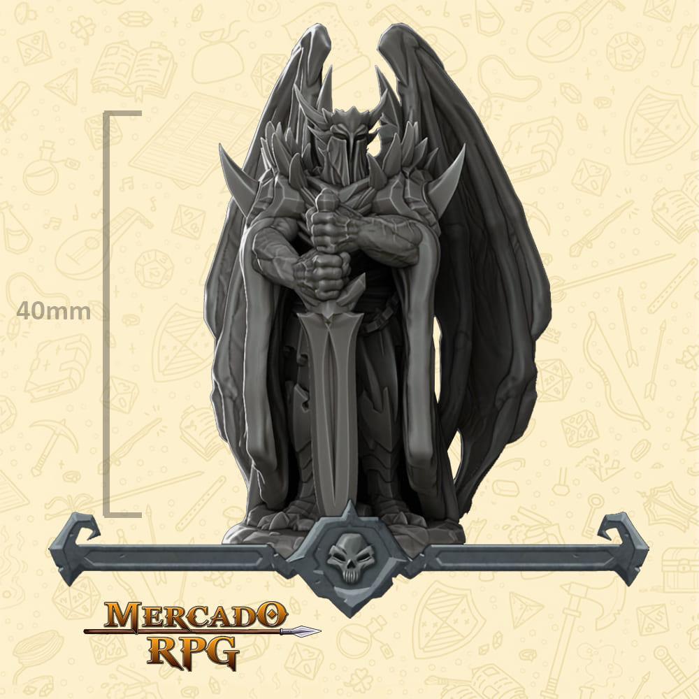 Devil Knight - Miniatura - RPG