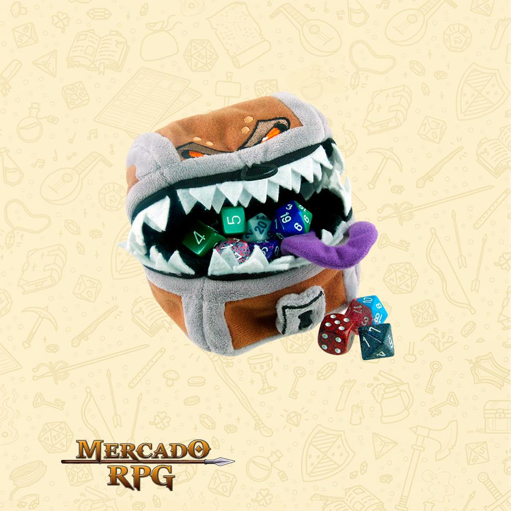 Dice Bag D&D - Mimic Gamer Pouch - RPG
