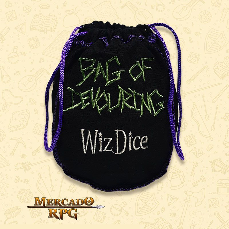 Dice Bag Grande RPG - Bag of Devouring  - Mercado RPG