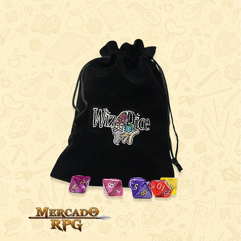 Dice Bag Grande RPG - WizDice