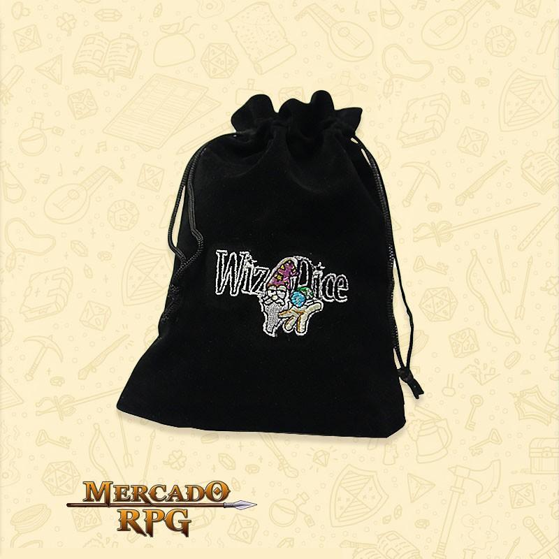 Dice Bag Grande RPG - WizDice  - Mercado RPG