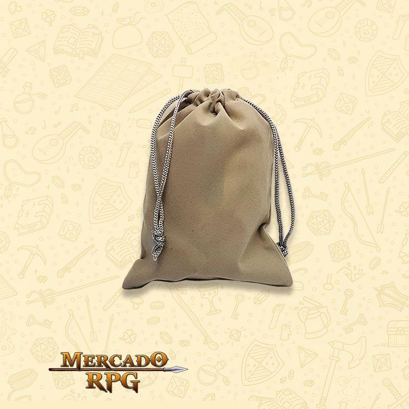 Dice Bag RPG - Cinza  - Mercado RPG