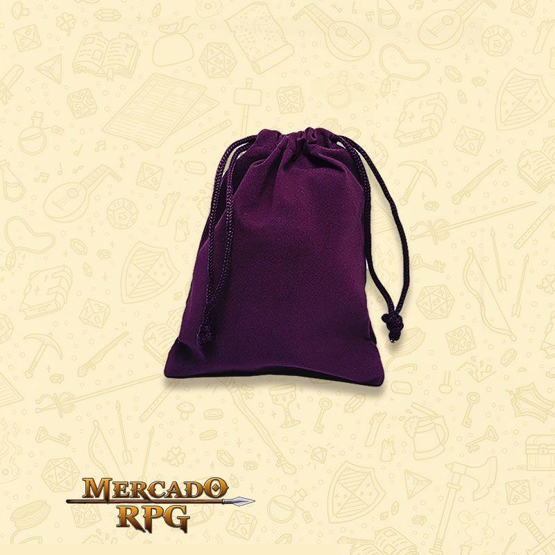 Dice Bag RPG - Roxo