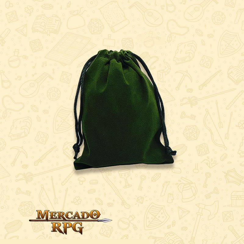 Dice Bag RPG - Verde