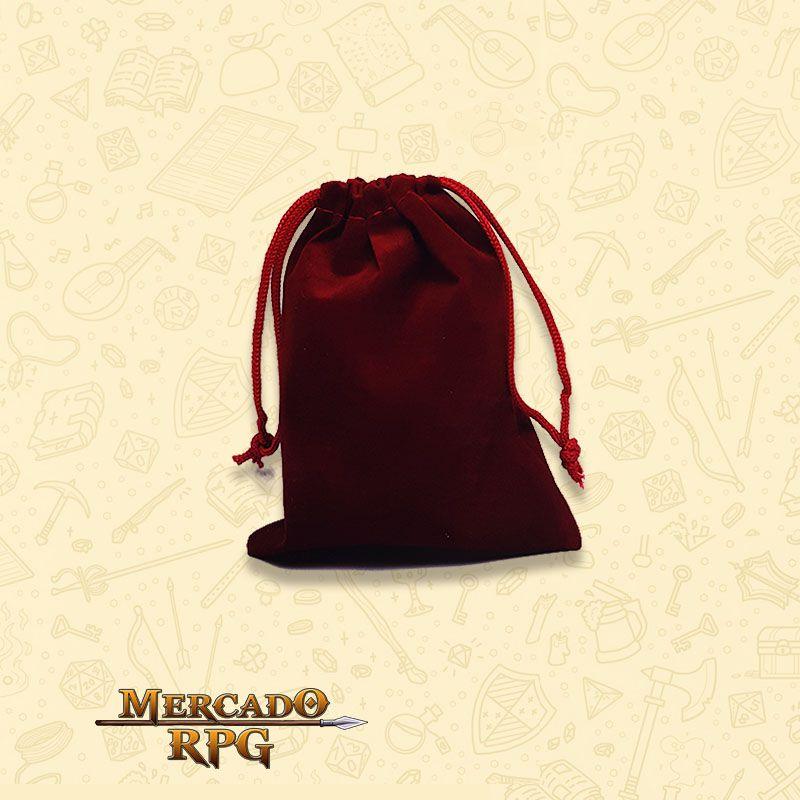 Dice Bag RPG - Vermelho  - Mercado RPG