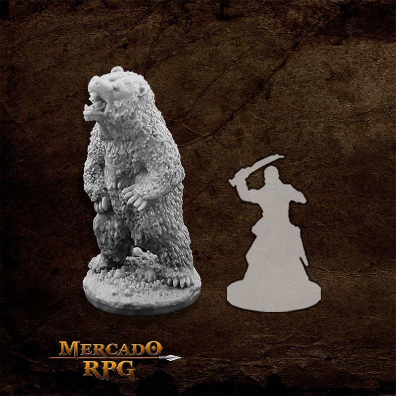 Dire Bear - Miniatura RPG (Ref. 77494)  - Mercado RPG