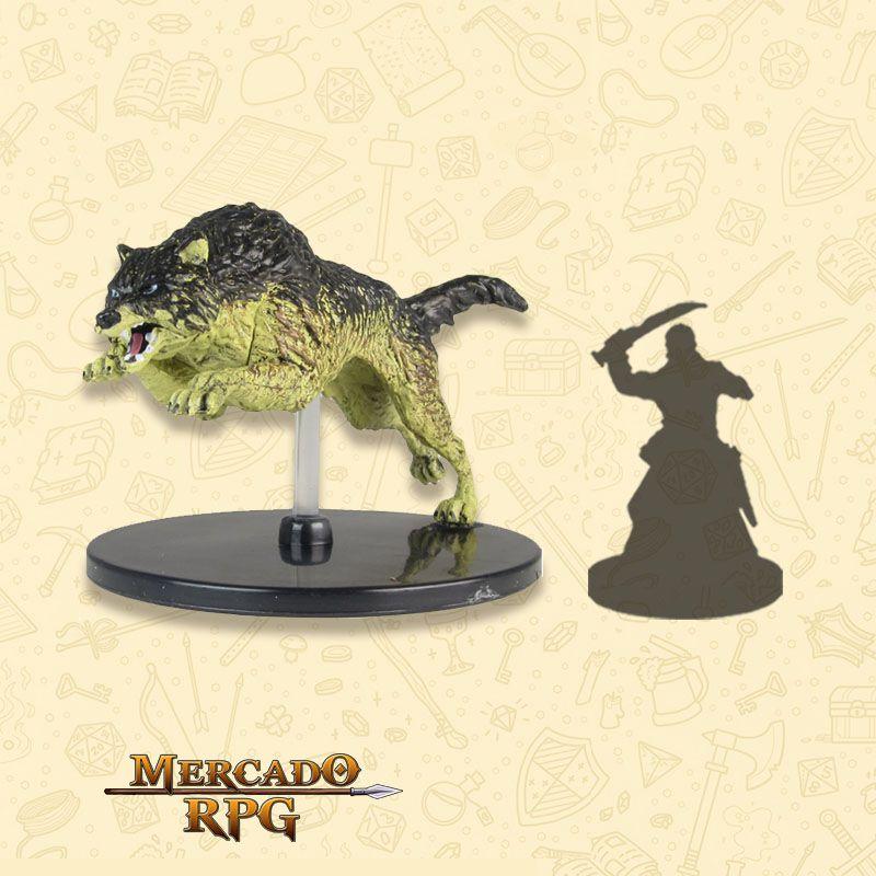Dire Wolf - Miniatura RPG  - Mercado RPG