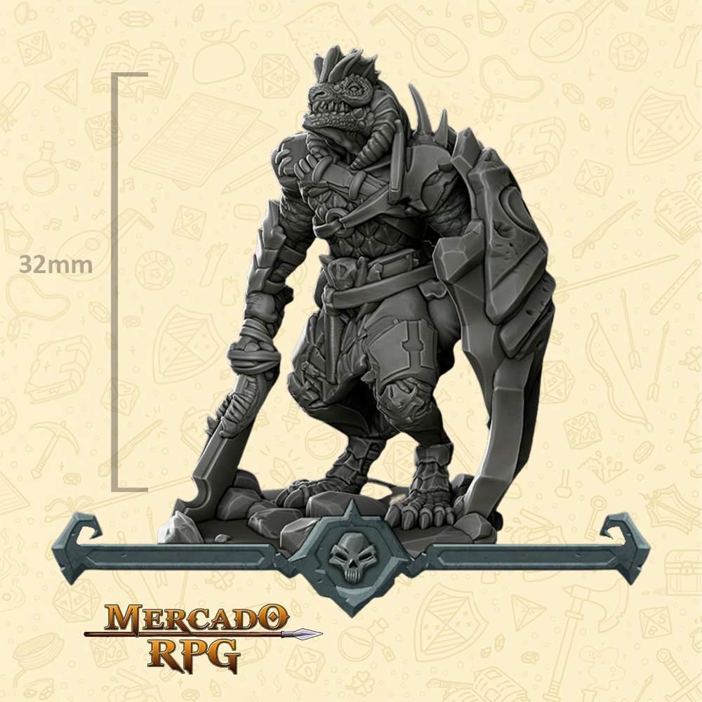 Dragon Folk - Miniatura - RPG