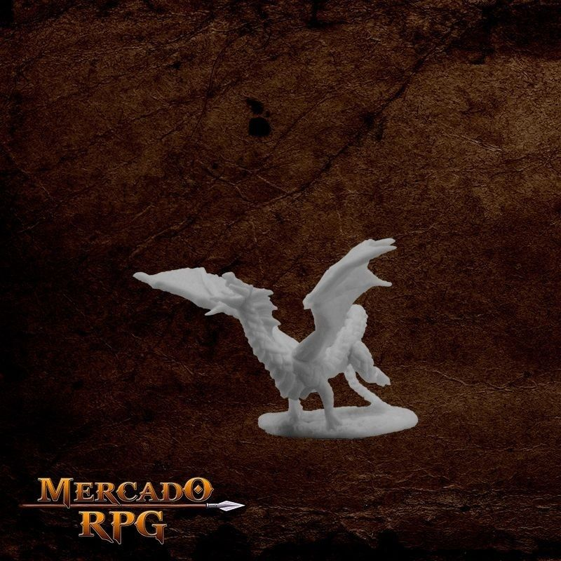 Dragon Hatchling Black  - Mercado RPG
