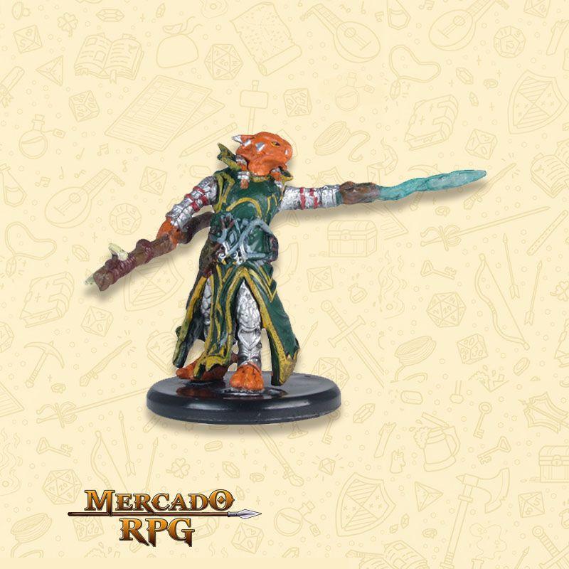 Dragonborn Draconic Sorcerer A - Miniatura RPG  - Mercado RPG