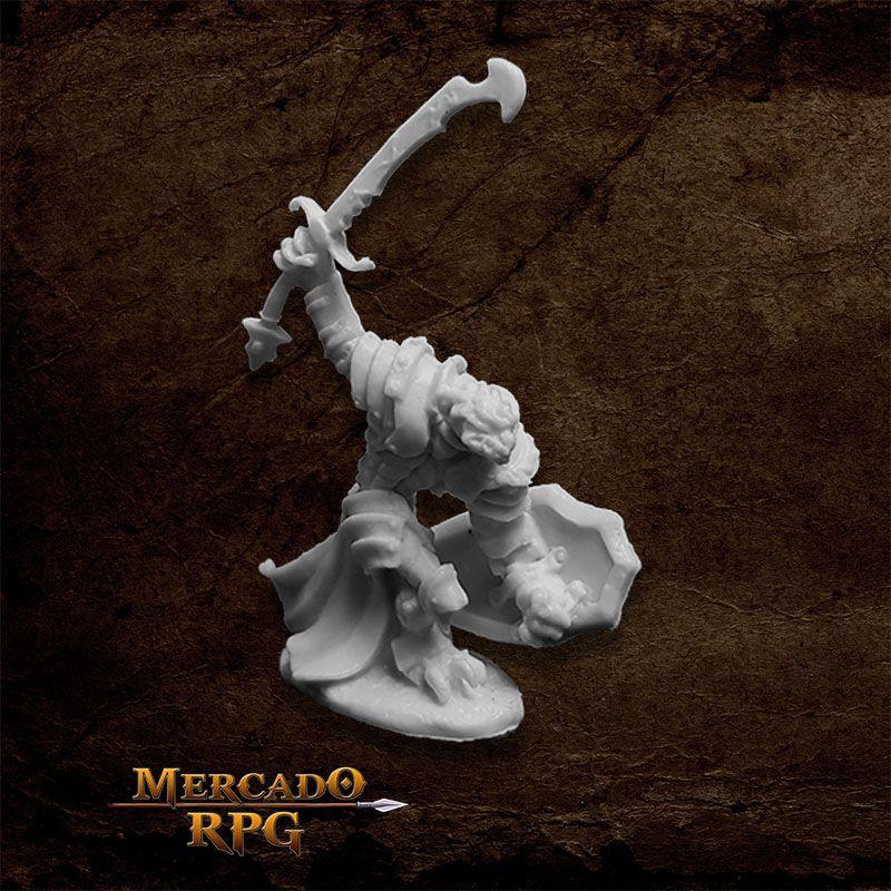 Dragonman Warrior - Miniatura RPG