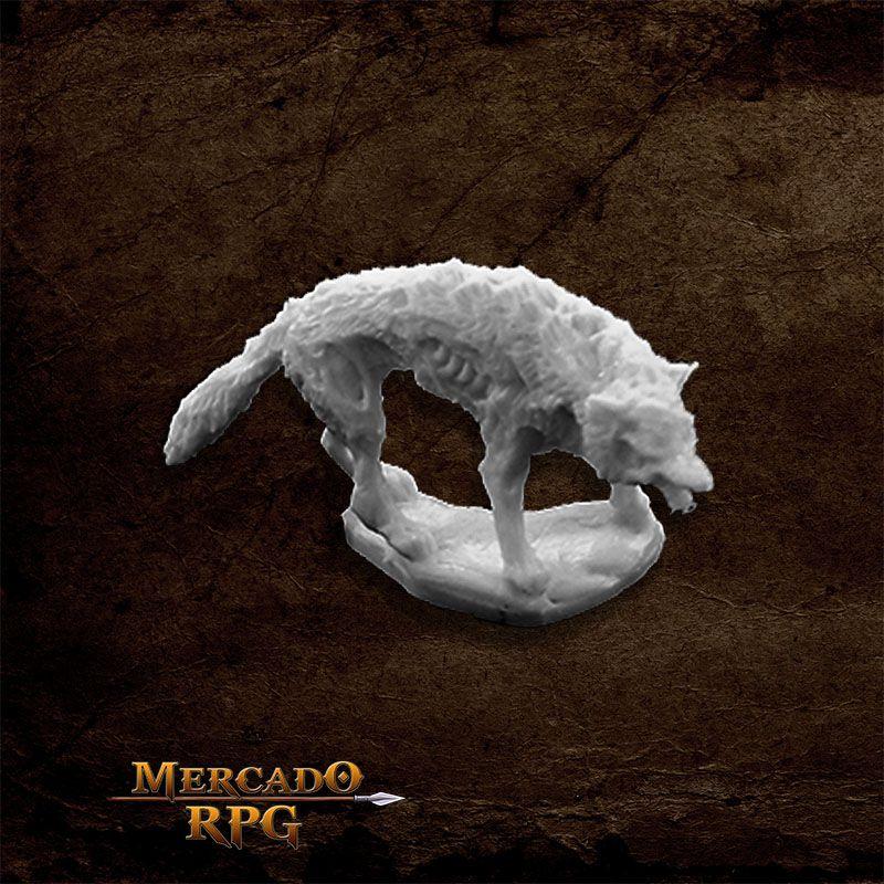 Dread Wolf - Miniatura RPG