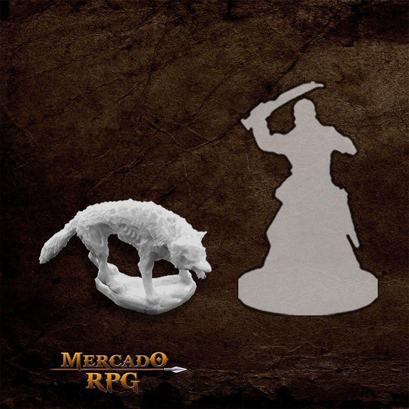 Dread Wolf - Miniatura RPG  - Mercado RPG
