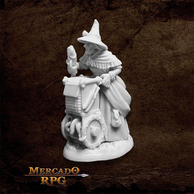 Dreadmere Townsfolk: Fishmonger A - Miniatura RPG Reaper Bones