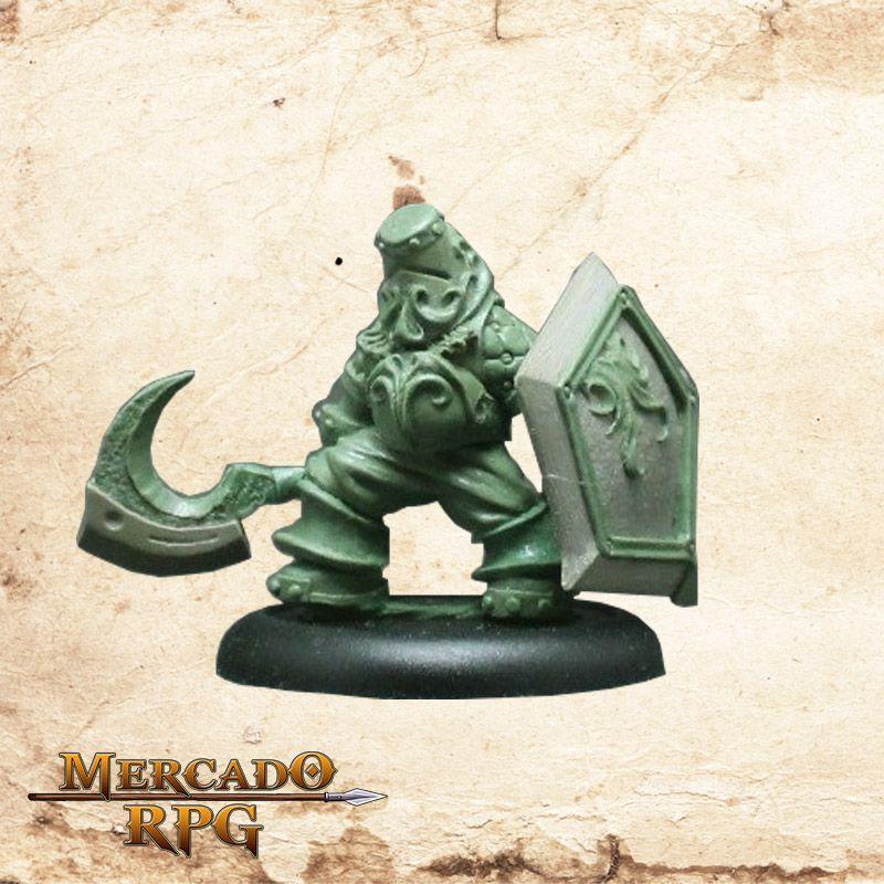 Dromar, O intrépido (Sem pintura) - Miniatura RPG