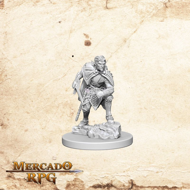 Drow A - Miniatura RPG  - Mercado RPG