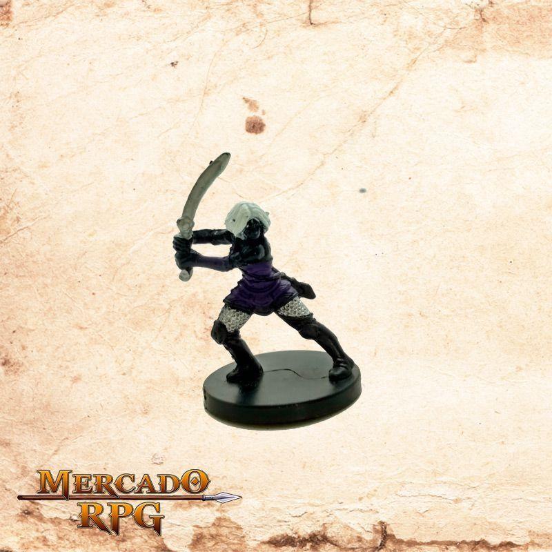 Drow Adventurer - Sem carta  - Mercado RPG