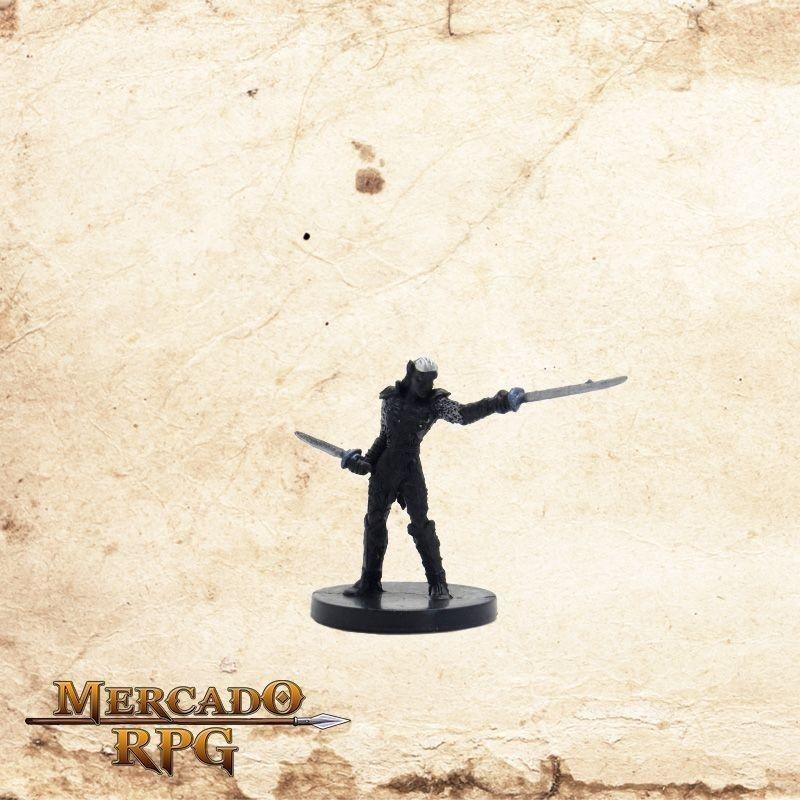 Drow Blademaster - Com carta  - Mercado RPG