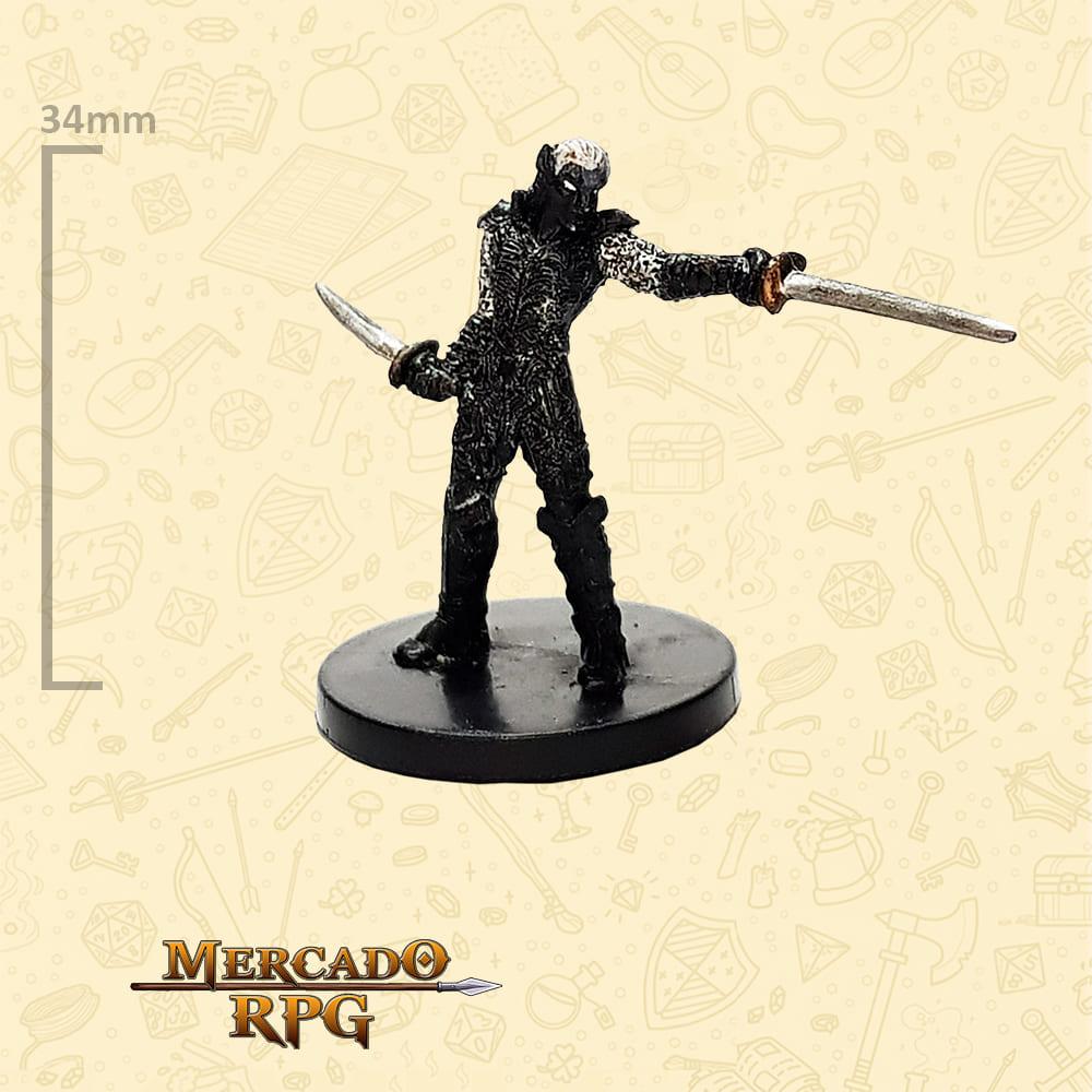Drow Blademaster - Miniatura D&D - RPG