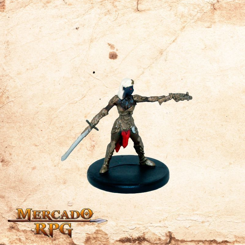 Drow Captain  - Mercado RPG