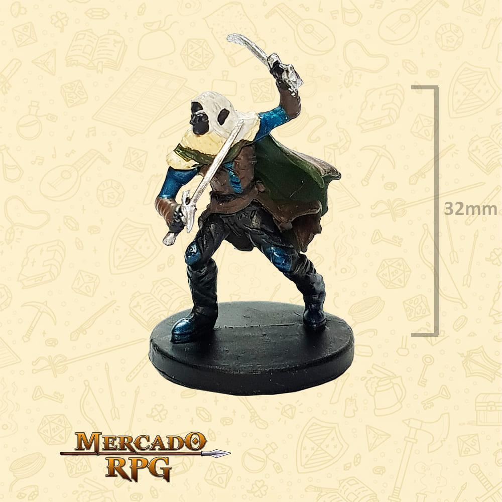 Drow Elf Ranger Drizzt - Miniatura D&D - RPG