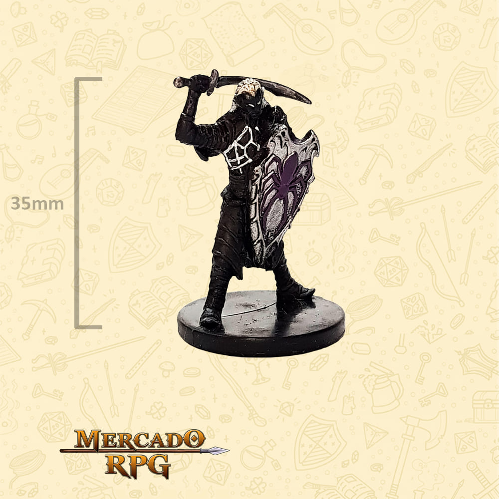 Drow Enforcer - Miniatura D&D - RPG