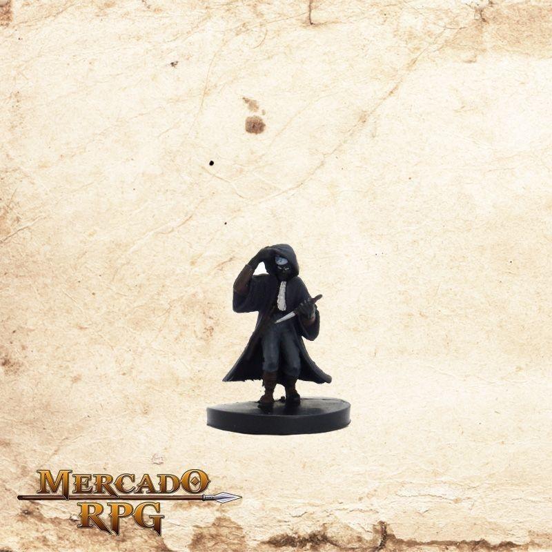 Drow Rogue - Com carta  - Mercado RPG