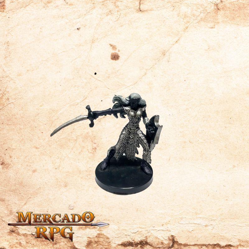 Drow Sergeant - Com carta  - Mercado RPG