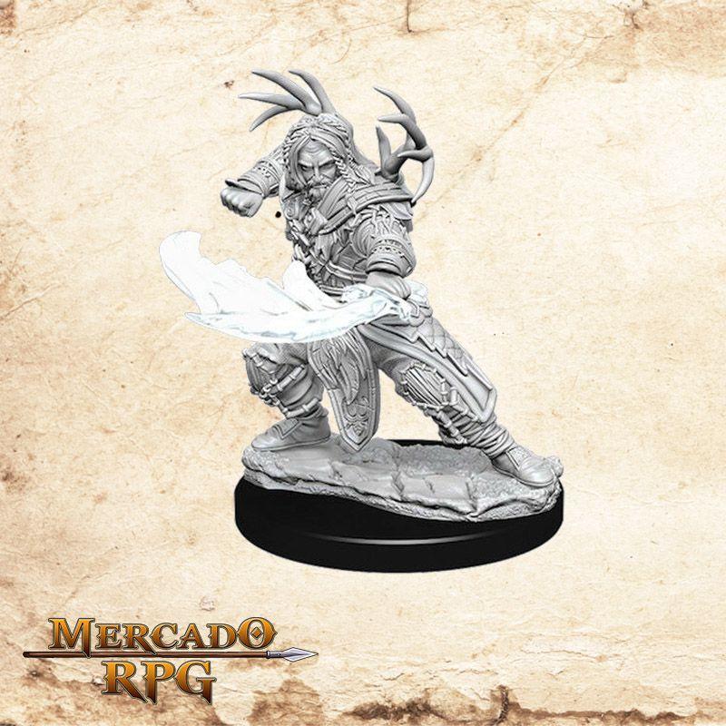 Human Male Druid A - Miniatura RPG