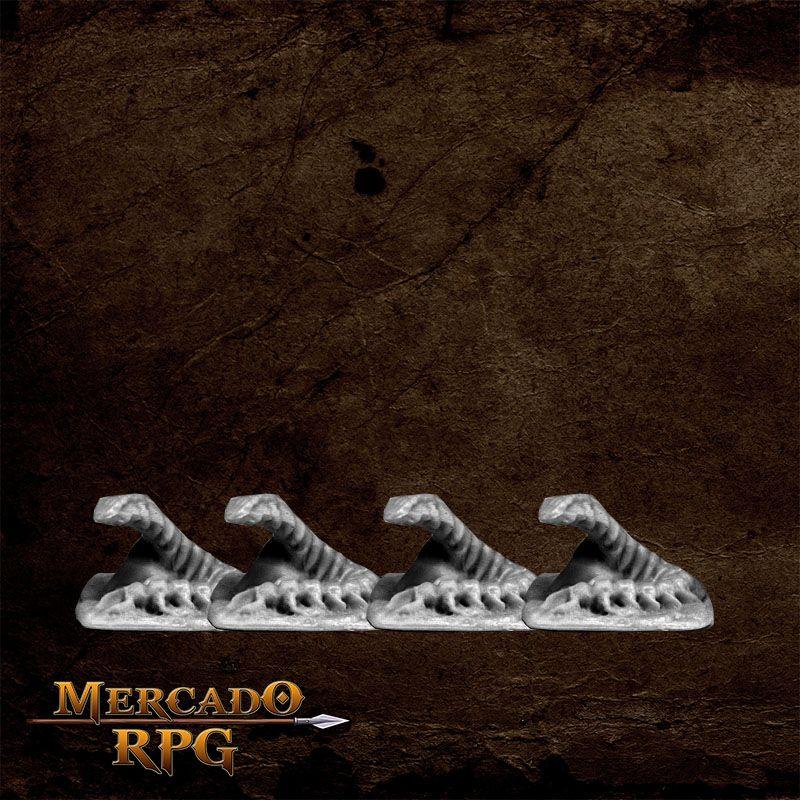 Dungeon Vermin - Centipede (4)  - Mercado RPG
