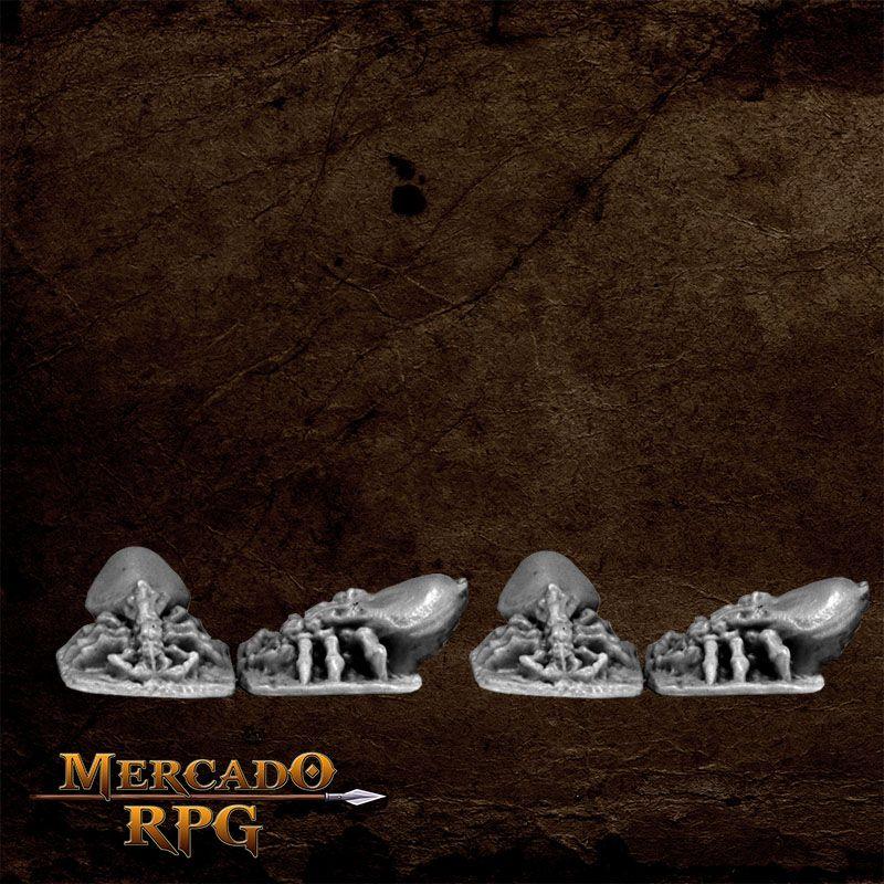 Dungeon Vermin - Tick (4)  - Mercado RPG