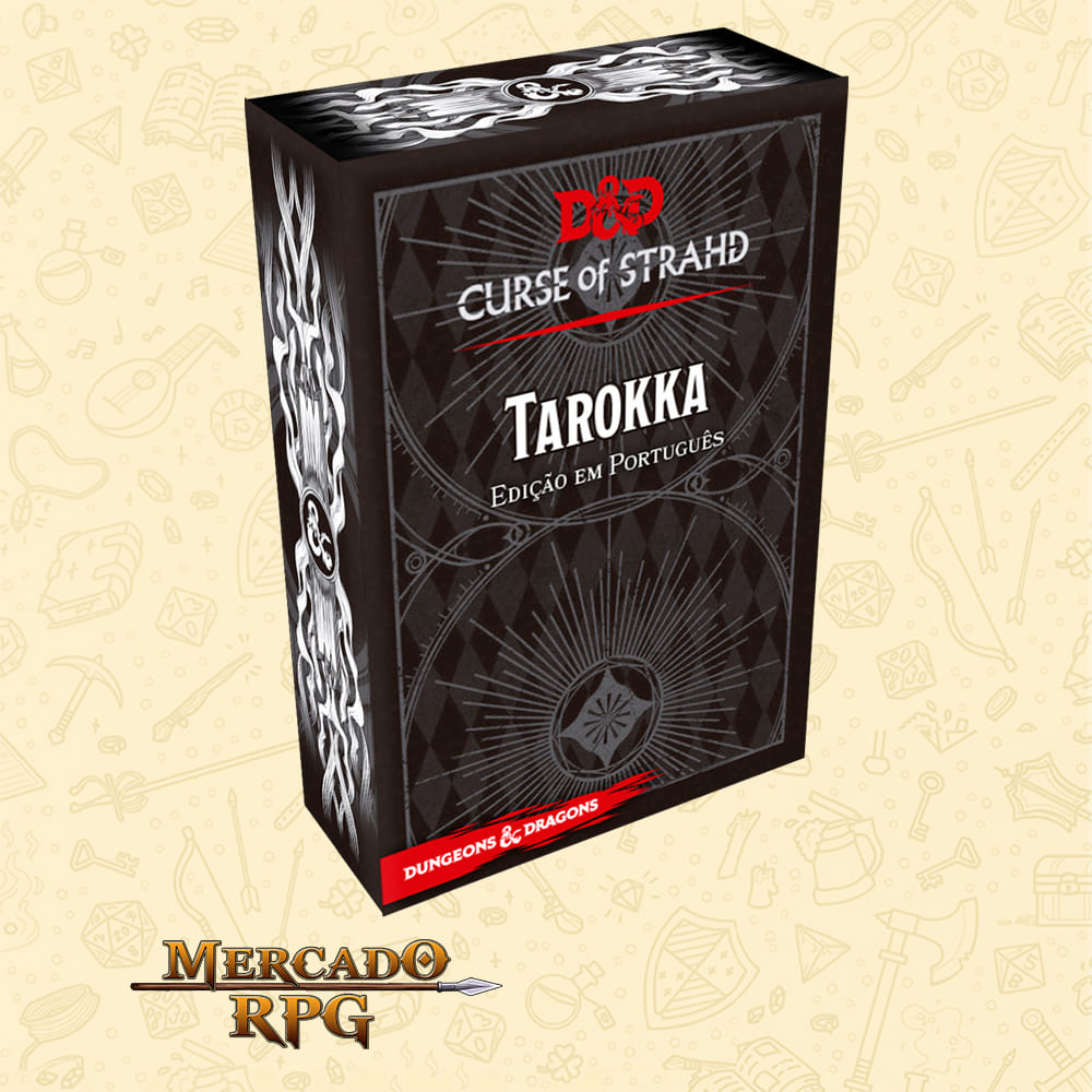 Dungeons & Dragons: A Maldicao de Strahd Tarokka Deck - RPG