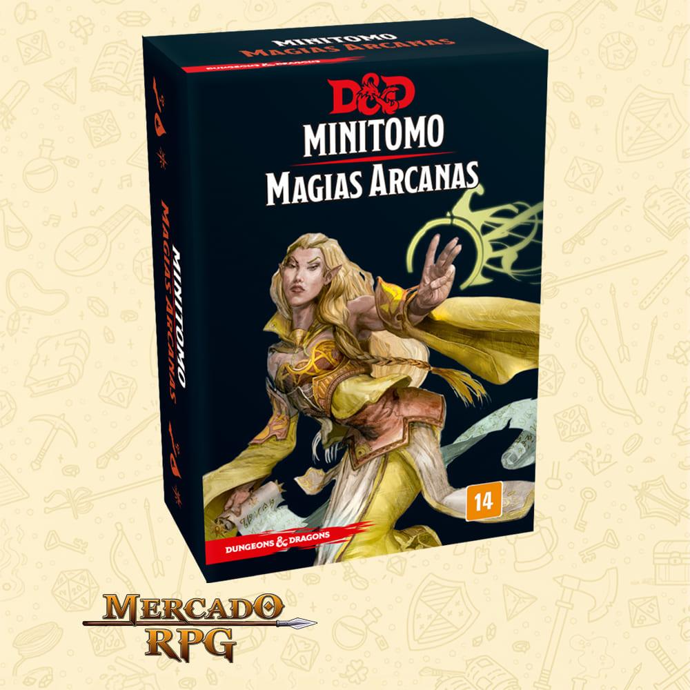 Dungeons & Dragons: Minitomo de Magias Arcanas - RPG